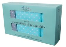 Soft Whisper™ 4-Layer Muslin Blanket and Swaddle Set! Free Shipping