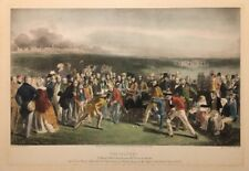 The Golfers A Grand Match St Andrews Links - Engraving After Charles Lees 22X16
