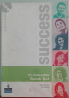 Success Pre-intermediate.Student's book-McKinlay,Hastings-Pearson Longman,2007-A
