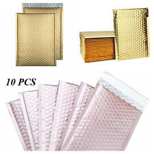 Mix Your Color 10 Matte Metallic Bubble Padded Envelopes Mailers #0 6x10
