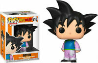 "DRAGON BALL Z GOTEN 3.75"" POP VINYL FIGURE FUNKO 618 UK SELLER POP ANIMATION"
