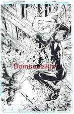 Dc/Vertigo Storm Watch #14 Cover Original Art by Will Conrad