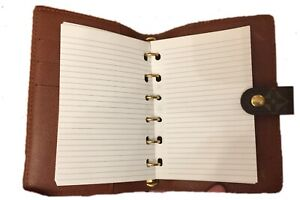 200 Pages + Insert Pen: Value Pack fits Louis Vuitton PM Small Agenda Planner