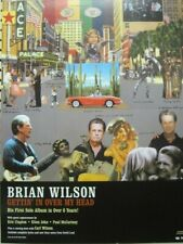 Brian Wilson 2004 In Over My Head promotional poster Flawless New Old Stock
