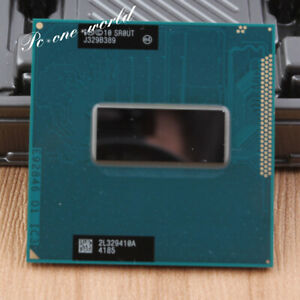 100% OK SR0UT Intel Core i7-3840QM 2.8GHz Processor Socket G2 CPU 1300 MHz