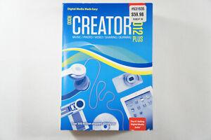 Roxio Creator 2012 Plus SEALED - Free 2-3 Day Shipping
