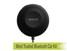 Kinivo BTC450 Bluetooth Hands Free Car Kit for Cars with Aux Input Jack 3.5 mm