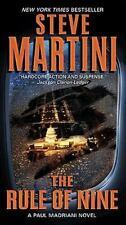 The Rule of Nine by Steve Martini  (Oversized - Paperback) A Paul Madriani Novel