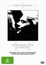JOHN FARNHAM Whispering Jack In Concert DVD BRAND NEW PAL R0 Live In Melbourne