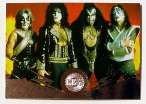 KISS foil chase card F5 1997 Series 1 Cornerstone