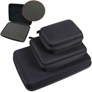 Portable Hard Shell Case Box With Foam Inside For GoPro Hero MAX 9 8 7 6 Xiaoyi