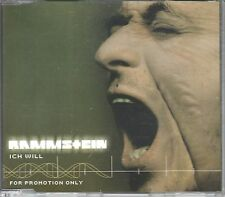 Rammstein CD-SINGLE  ICH WILL  ( PROMO )
