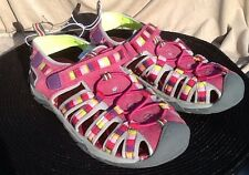 NEW CIRCO 5 GIRL YOUTH PURPLE PINK OUTDOOR CRUISE BOAT LAKE  BEACH WATER SANDAL