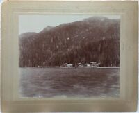 Salmon Cannery at Orca, Prince William Sound, Alaska, original photograph 1897