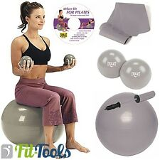 Everlast Pilates Deluxe Set, 5-teilig inkl. Trainings DVD, Joga