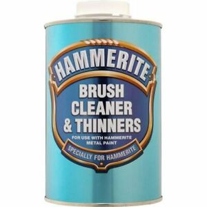 NEW HAMMERITE BRUSH CLEANER & THINNERS - 1 LITRE - 5084920 BEST QUALITY