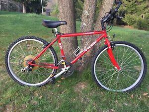 "1992 Trek Antelope 830 Red w Blacksplash 16.5"" Frame Chromoly True Temp 22"" Whls"