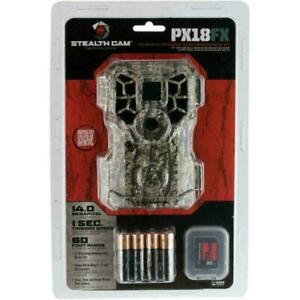 Stealth Cam Px18fxcmo FX Shield Camo 14 Megapixel HD Trail Camera Stc-px18fxcmo