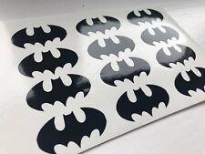 60 Batman Marvel Stencil Glass Craft Etched Vinyl Sticker Silhouette Disney Car