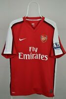 ARSENAL LONDON 2008/2009/2010 HOME FOOTBALL SHIRT JERSEY VINTAGE NIKE SIZE L