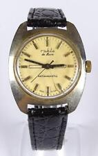 "Armbanduhr ""Ruhla"", de Luxe,mechanisch,Werk läuft,Glas beschädigt,  (263/6112)"