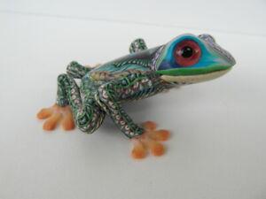 Fimo Clay Millifiori Animal sculpture by Jon Anderson - small Tree Frog