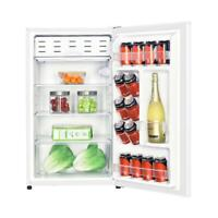 4.4 cu. ft. mini fridge in white | compact refrigerator home appliances can door