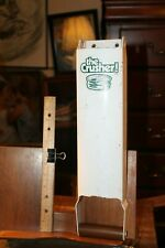 New listing Aluminum Can The Crusher Wall Mount Used Heavy Pacific Precision Metals