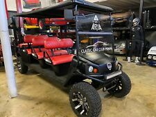 EZ GO CUSHMAN CUSTOM LIMO 8 passenger GOLF CART transport
