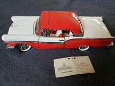 1957 Ford Fairlane 500 Skyliner - Franklin Mint Precision Models Has no Box