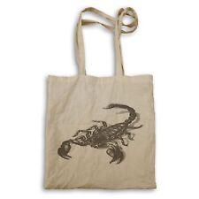 Scorpio Hand Drawn Tote bag ee852r