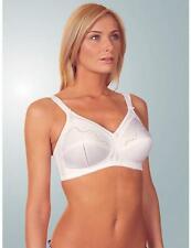 0a40ef77a16 Triumph Doreen Cotton Mix Non Wired Bra 10004928 White or Skin New Lingerie