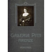 GALLERIA PITTI FIRENZE 40 PEINTURES Édition Illustrato Anglais Français Italien