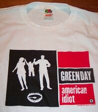 GREEN DAY American Idiot 2004 TOUR T-Shirt LARGE NEW