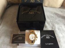 André Belfort-Reloj para hombre - 410176 le retour Oro Plata