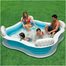 Intex Schwimm-Center Family Lounge Pool mit 4 Sitzecken 229 x 229 cm