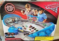 Disney Pixar Cars 3 Ultimate Florida Speedway Track set, Lightning Mcqueen Car