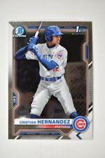 2021 Bowman Chrome Base #BCP-171 Cristian Hernandez - Chicago Cubs