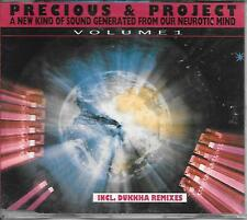 PRECIOUS & PROJECT - A new kind of sound CD SINGLE 6TR Belgium 1991 Acid Techno