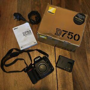 Nikon D750 24.3mp DSLR Camera