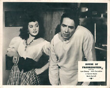House of Frankenstein rare original lobby card 1944 Universal Horror J.C.Naish