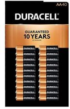Duracell Coppertop Alkaline AA Batteries, 40 CT in Pack,  NEW