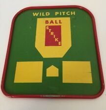 Vintage Tudor Tru-Action Electric Games Baseball Wild Pitch Ball Strike