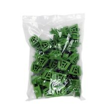 Dental Bite Block Autoclavable Silicone Mouth Props Medium Green (Bag of 50)