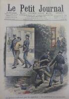 1908 EXECUTION CRIME GUILLOTINE LES APACHES GENDARMES PRISON  PARIS
