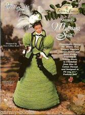 Abigail's Walking Suit Ladies of Fashion Crochet Pattern for Barbie Dolls NEW