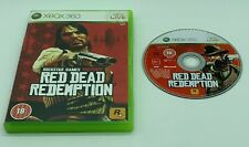 Red Dead Redemption Xbox 360 Video Game PAL UK Tested Freepost VGC