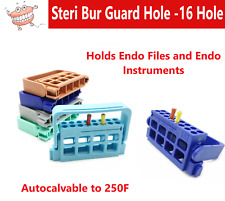 Dental Endo File Holder Holds 16 K Files Amp Endo Instruments Endo Guard Block