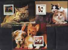 St Thomas 1519-23 Cats and Dogs Mint NH