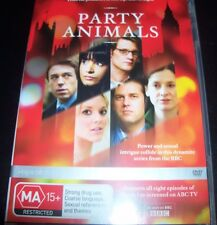 Party Animals Series One 1 BBC TV DVD (Australia Region 4) DVD - Like New